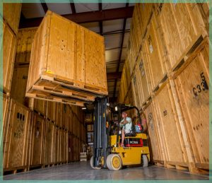 Climate controlled storage facility in Naples, Florida | William C. Huff Companies - Moving & Storage