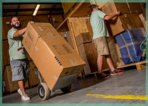 fine art handling and storage in a climate controlled facility   William C. Huff Companies - Moving & Storage