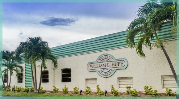 The exterior of the Commercial Moving Company William C. Huff Naples, Florida Location | William C. Huff Companies Moving & Storage