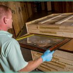 fine art handling and storage in our climate controlled storage facility | William C. Huff Companies - Moving & Storage