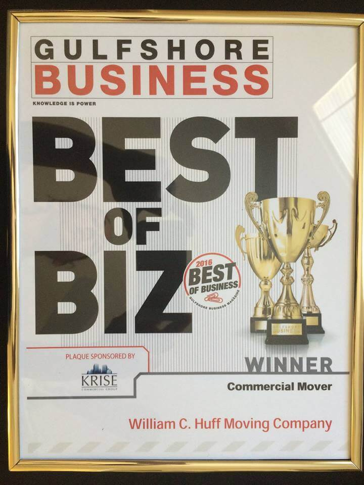 Gulfshore Business Best Of Business 2019 Gulfshore Business 2016 Best Of Business Award Winner! | William C