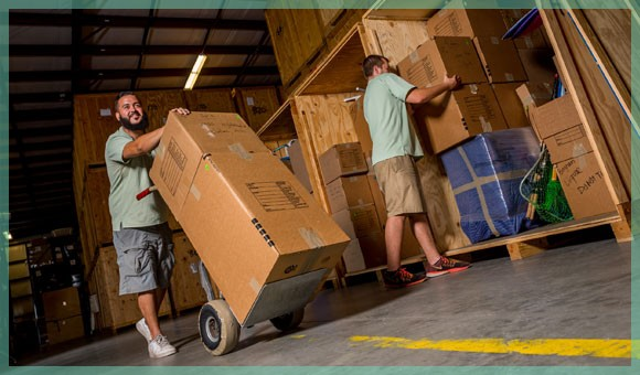 our staff cares for your household items 24/7 in our climate controlled storage facility | William C. Huff Companies - Moving & Storage