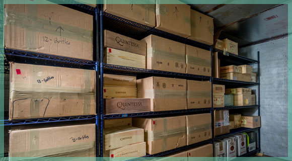 Wine Collection Storage Facility Naples Florida William C